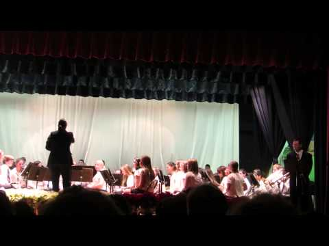 LaGrange Middle School 8th Grade Band - Twas the Night Before Christmas