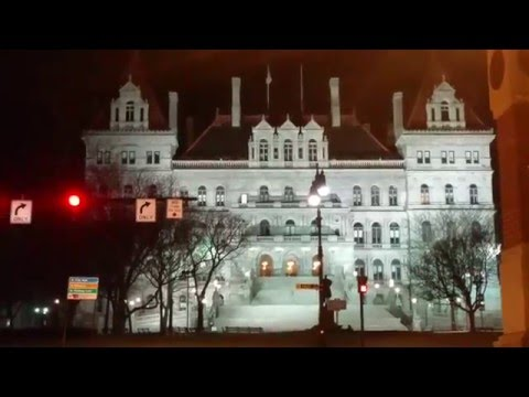 New York State Capitol in Albany,NY