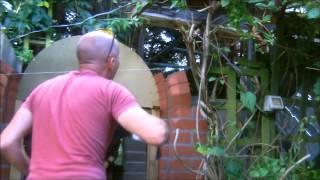 the fine art of brickwork - Semi Circular Axed arch