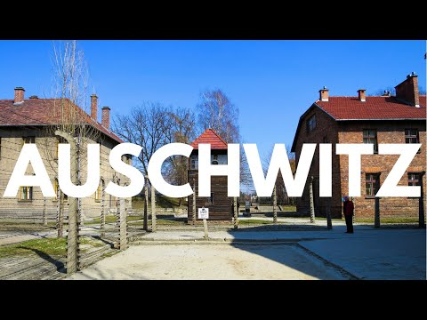 Auschwitz-Birkenau Concentration Camp in Poland