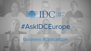 #AskIDCEurope - Business Applications