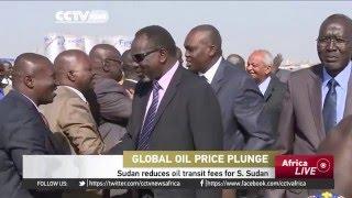 Sudan reduces oil transit fees for South Sudan