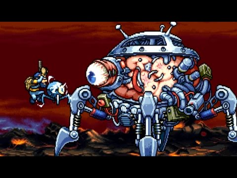 Demon Front (Metal Slug clone) All Bosses (No Damage)