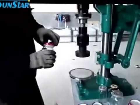 jar capper machine