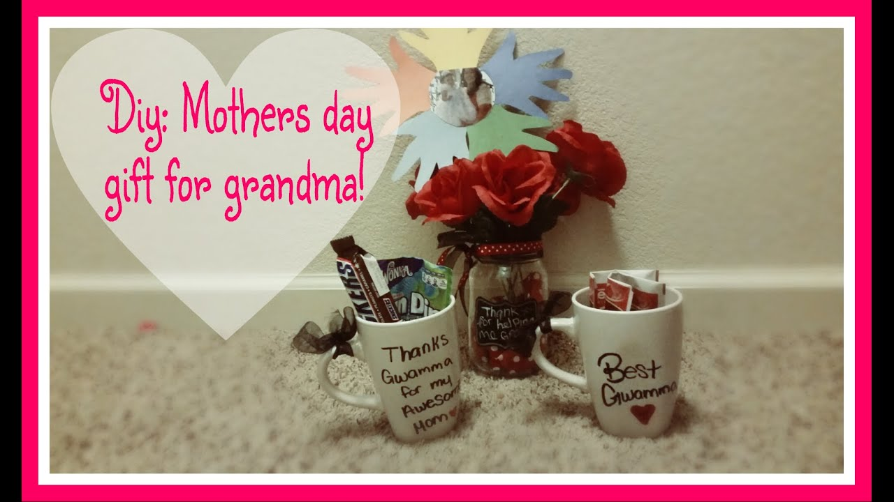 Diy - Mothers day gifts for grandma!