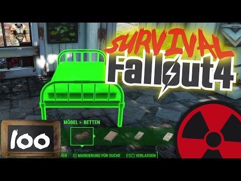 FALLOUT 4 - SURVIVAL - #100: Unsere Kinderkrippe soll schöner werden ☢ [DEUTSCH] Lets Play Fallout 4