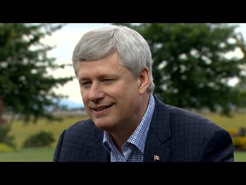 Stephen Harper interview with Peter Mansbridge (with ASL)