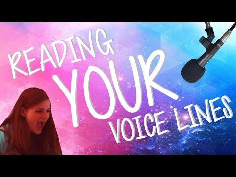 READING YOUR VOICE LINES  Geometry Dash Juniper