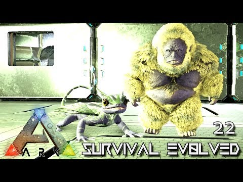 ARK: ABERRATION MODDED - NEW ABERRANT GIGANTOPITHECUS !!! E22 ( GAMEPLAY ARK: SURVIVAL EVOLVED )