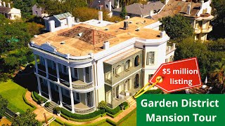 Mansions of the Garden District New Orleans: Aerial Tour