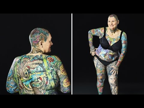 Thumbnail: Senior Citizen Breaks Tattoo Record After Late Husband Never Let Her Get Even On
