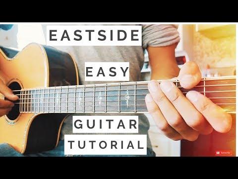 Eastside Halsey, Khalid, Benny Blanco Guitar Tutorial // Eastside Guitar // Guitar Lesson #530