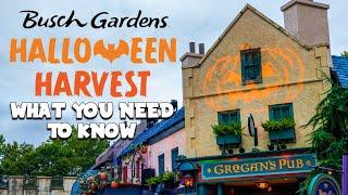 Busch Gardens Williamsburg Halloween Harvest 2020 | Everything You Need to Know!