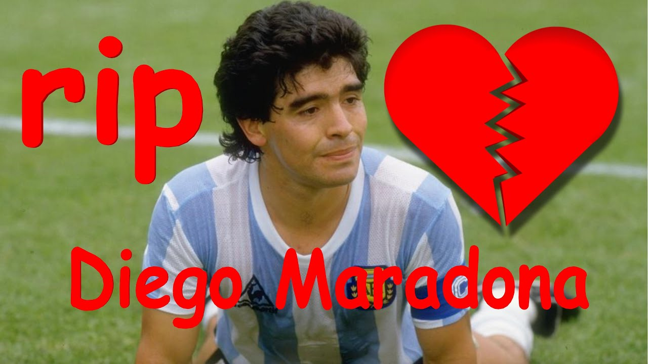 RIP 💔 Diego Maradona death(Best moments from fifa football) 1960 –2020