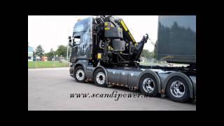 Pierre Häll Scania V8