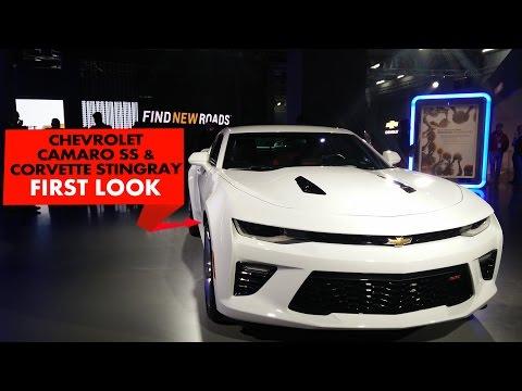 2016 Chevrolet Camaro & Corvette Stingray | First Look | PowerDrift