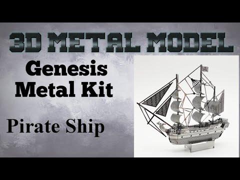 Genesis Metal Model Build - Pirate Ship