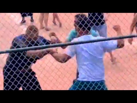 Kristina - Parents Fight During Kids' Baseball Game