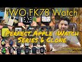 "- Apple IWO FK78 Smart Watch  BEST Replica Of Apple Series 6 Watch  AMOLED Retina 1.78"" Display-BPM-BP"