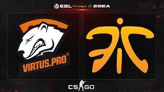 CS:GO - Virtus.Pro vs. Fnatic [Train] - ESL ESEA Pro League Dubai Invitational - Semifinal Map 2