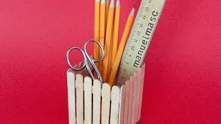 How To Create A Cool Fence Style Pen Holder - Diy Crafts Tutorial - Guidecentral