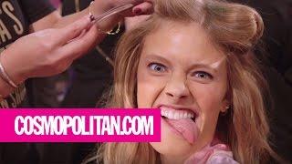 Victoria's Secret Models' Funniest and Sexiest Faces   Cosmopolitan