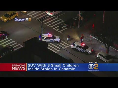 SUV With 3 Children Inside Stolen In Canarsie