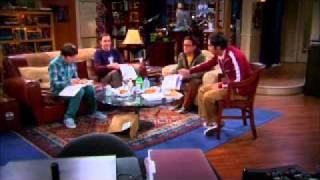 TBBT - Sheldon tries to choose a vacation spot