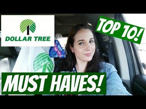 DOLLAR TREE! TOP 10 THINGS TO ALWAYS BUY!