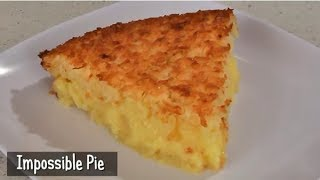 Impossible Pie Recipe