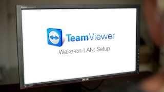 TeamViewer 9 Features: Wake-on-LAN Setup