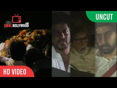 UNCUT - Bollywood Celebrities attend Aishwarya Rai Bachchan's father Krishnaraj Rai's funeral