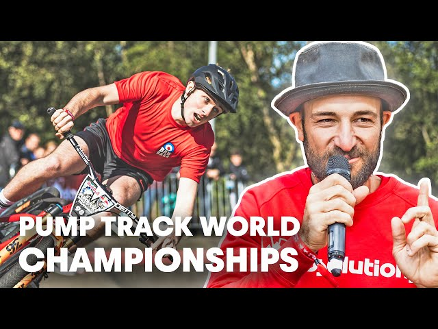 Mark Ducat Defending Home Turf in Scotland | Pump Track World Championships w/Claudio Caluori
