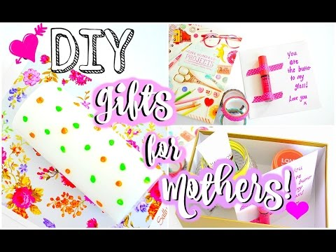 DIY Mother's Day Gifts 2016 | How to: DIY Gifts for Moms