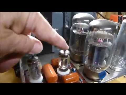 Improving Signal to Noise Ratio On The Dynaco Mark III Vacuum Tube Amplifier