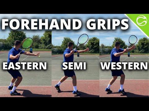 Best Tennis Forehand Grip? Eastern vs Semi Western vs Western - Forehand Grips Explained