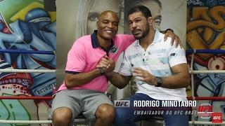 Corner: Rodrigo Minotauro entrevista Anderson Silva