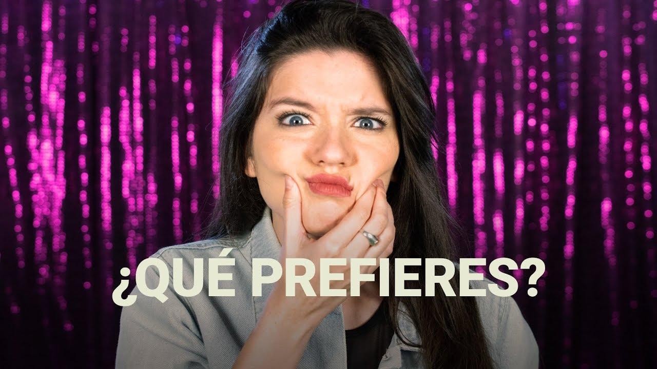 ¡Retamos a Mica Suárez a contarnos qué preferiría!   Would You Rather