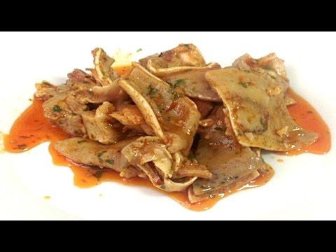 OREJA DE CERDO EN SALSA | Receta De Mi Madre | Recetas de Cocina