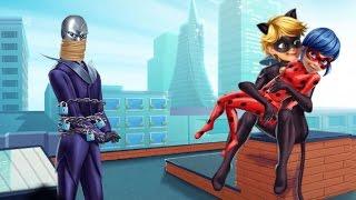 Cat Noir Rescue Ladybug (Супер Кот спасает Леди Баг играть)