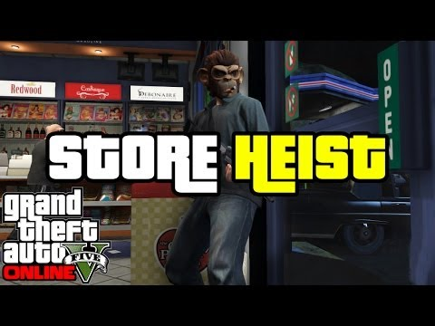GTA Online Heists ROBBING THAT STORE! Heist Preparation Ep 2
