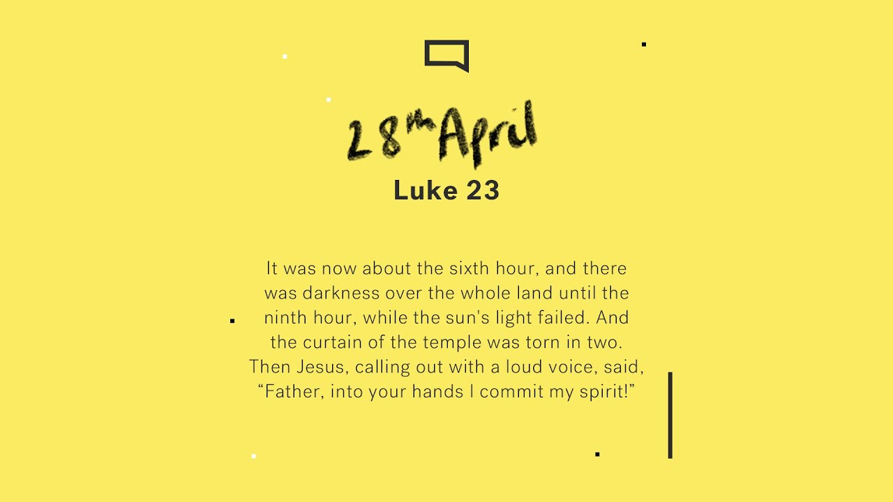 Daily Devotion with Andrew Knight // Luke 23 Cover Image