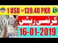 Pakistan Today US Dollar Price and Currency Exchange Rates | PKR to US Dollar | 1 USD= 139.40 PKR