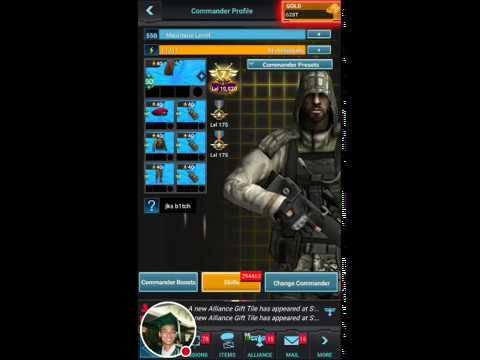 Mobile Strike 101 - Commander skills for 3rd commander