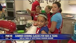 Cory's Corner: Summer cooking classes for kids and teens