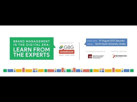 Brand Management in The Digital Era | Seminar at NSU