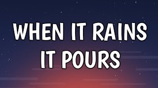 Luke Combs - When It Rains It Pours (Lyrics)
