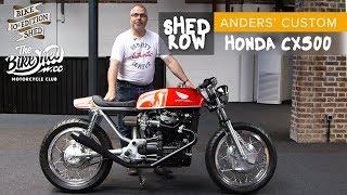 Honda CX500 custom shed build by Anders Beltin - Bike shed Show 2019