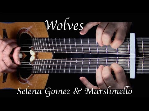 Cover Lagu Selena Gomez, Marshmello - Wolves - Fingerstyle Guitar STAFABAND