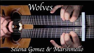 Selena Gomez, Marshmello - Wolves - Fingerstyle Guitar